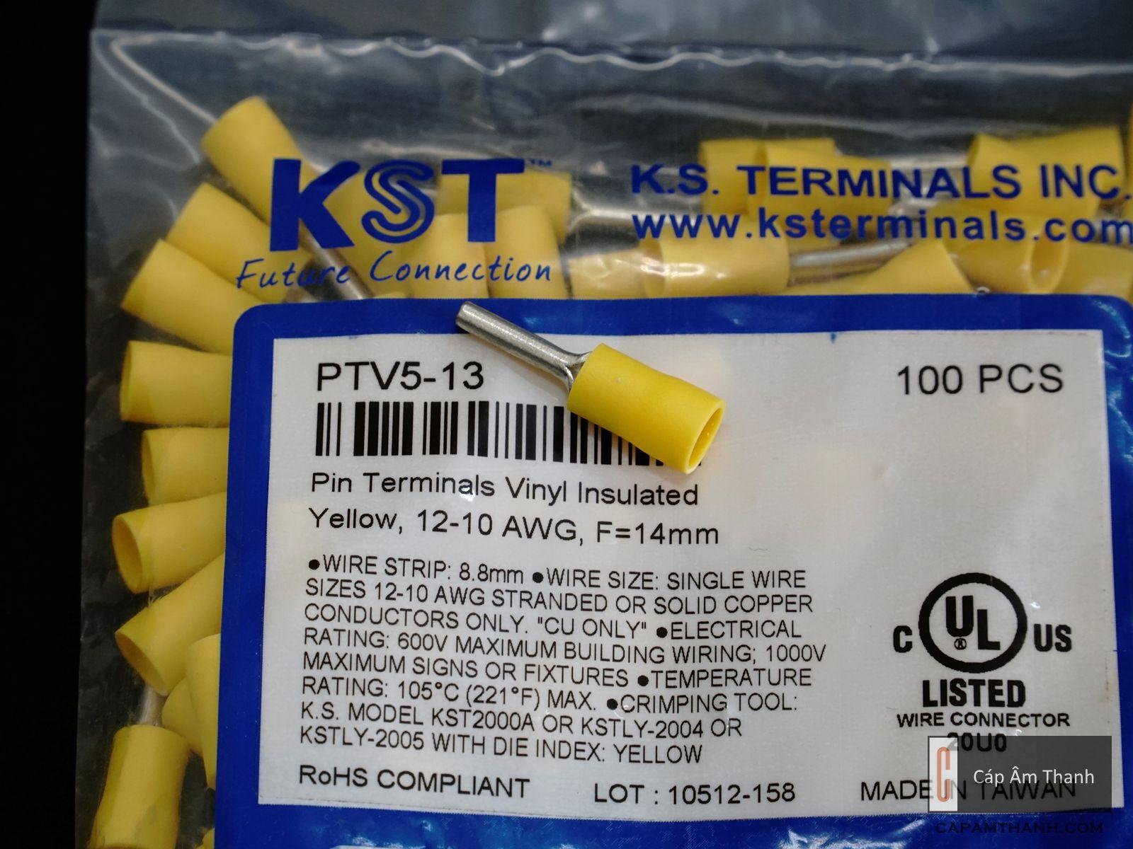 Cos Pin KST PTV5-13 (cái)
