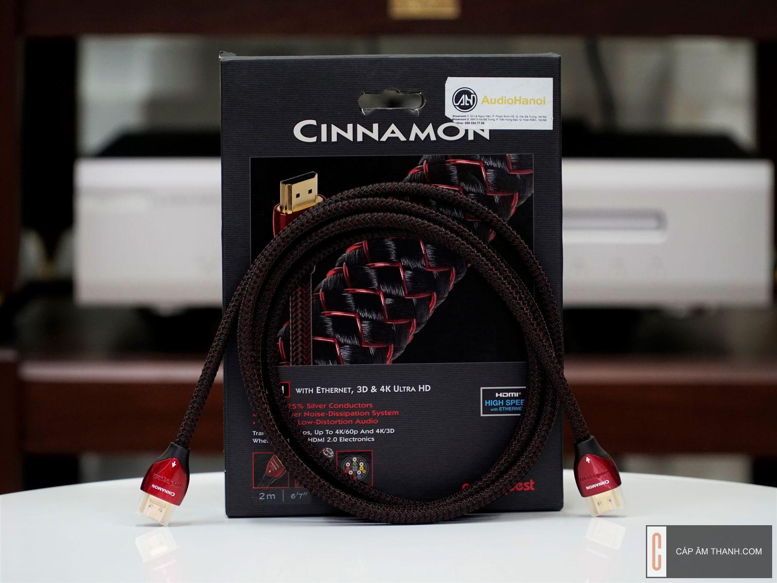 HDMI Audioquest Cinnamon 2m