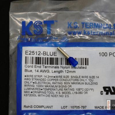 Cos ống dẫn điện KST E2512 (cái)