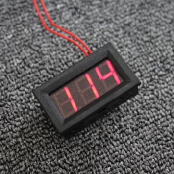 Đồng hồ Vol LED