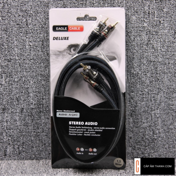 Dây RCA Eagle-Cable - Deluxe Stereo Audio 1.5m