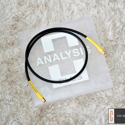 Dây Coaxial Analysis Plus Black Digital