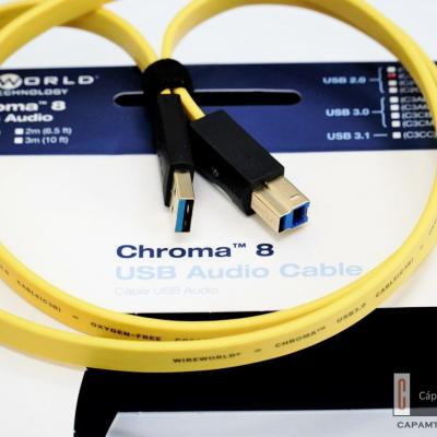 WireWorld Chroma 8 USB 3.0 A - B 1m