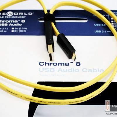 WireWorld Chroma 8 USB 2.0 A - micro B 1m